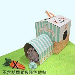 MiniAniman 寵兔紙製遊玩屋組 (不可超取)