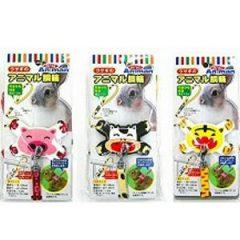 Mini Animal 可愛動物造型X型溜繩