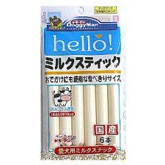 DoggyMan 牛奶口味起司條 (原裝, 分售) [期限2019-09]