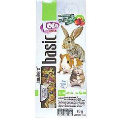 LOLO 小動物點心棒-綜合水果 112g(兩支)