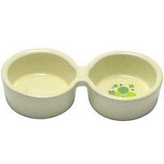 SANKO 雙碗食盆