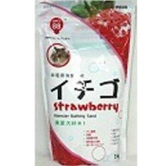 Hamada 寵物鼠沐浴沙 1Kg (草莓, 薄荷)