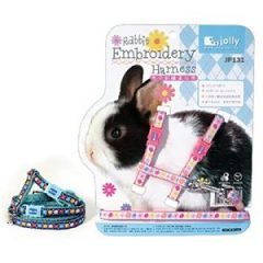Jolly H型兔用繡花溜繩