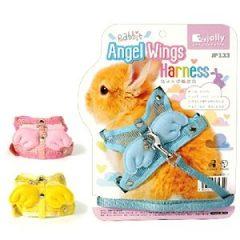 Jolly H型兔用天使胸背溜繩