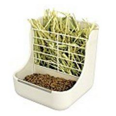 GEX 固定式食盆牧草架(籠內式)