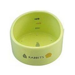 Marukan 淺綠蛋型食盆