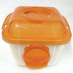 MS.PET 寵物鼠輕巧外出提籠 (橘)