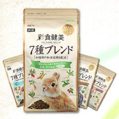 日本GEX 彩食健美 寵兔飼料 4款 [期限2021-03]