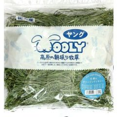 WOOLY 日本產 提摩西一割處女草 400g (淺藍標)