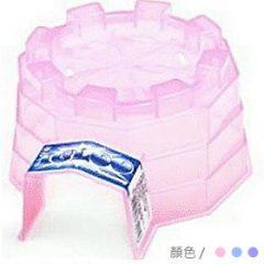 塑膠 倉鼠造型冰屋 (粉紅,淺藍,淺紫)