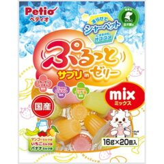 日本Petio 甜心杯 營養補助綜合果凍3口味(芒果/草莓/香蕉) [期限2021-09]