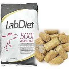 美國 LabDiet 5001 實驗室鼠飼料(非素食) [期限四個月以上]