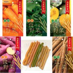 日本 DoggyMan 香脆野菜棒-胡蘿蔔|菠菜|南瓜|甜薯|牛蒡 [期限2022-09]